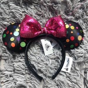 Disney Parks Authentic Minnie Mouse Ear Headband